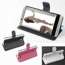 "Luxury Magnetic Leather Folio Case Stand Cover For 4.7"" Cubot One Smartphone"