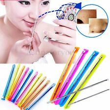 10/20 Acne Pimple Blemish Blackhead Comedone Extractor Remover Needle Stainless
