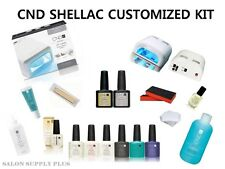 Authentic CND Shellac - CREATE YOUR OWN CUSTOMIZED  KIT- UV GEL NAIL POLISH