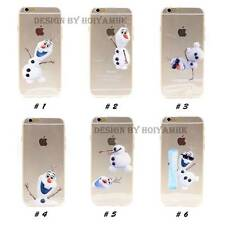Unique Own Design Disney Frozen Theater Olaf Tpu Soft Case For iPhone 6/ 6 Plus