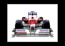F1 Race Car Toyota - A3 A4 Poster