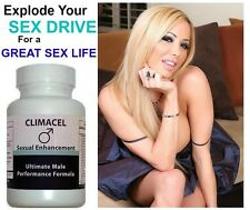 Climacel Male Penis Enhancement Volume Pills Enlargement Sex Aid Better Orgasms