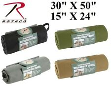 """Military Microfiber Fast Drying Super Absorbent Body Towel 15"""" X 24""""or30"""" X 50"""""""