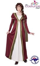 Medieval Maiden Game of Thrones Maid Marion Dress Costume Sz  8 - 22