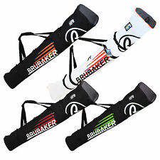 BRUBAKER Winter Sports Padded Ski Bag SUPERCHAMPION for 1 Pair Ski and Poles NEW