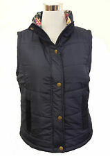 Womens / Ladies Floral Lining Bodywarmer / Quilted Gilet
