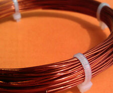 0.50mm 24-Gauge Enameled Copper Magnet Wire AWG SWG 24G conductor winding thread