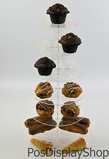 Multi Tier Round Cup Cake Stand Wedding Birthday Party Muffins Fairy Cakes