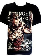 T shirt Avenged Sevenfold M. Shadows T Shirts Size S M L Metal Rock Band Singer
