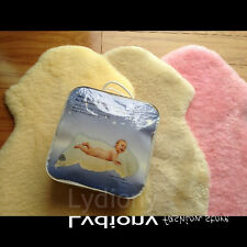 Australian Sheepskin Baby Infant Floor Rug Wool Sleeping Mats Baby Shower Gift