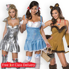 Sexy Wizard of Oz Officially Licensed Costumes Dorothy Cowardly Lion Tin Woman