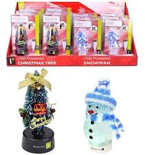iEssentials USB Powered Snowman, Christmas Tree multi color changing LED lights