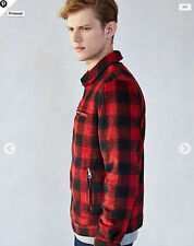 urban outfitters - kill city buffalo plaid trucker jacket - original $119