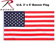 U.S. FLAG Military US Banner Flag Double Stitched 3' x 5' w/Grommets 1450