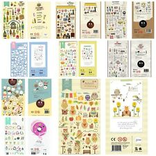 Korean multiple ideas Cute stickers Scrapbook Card DIY