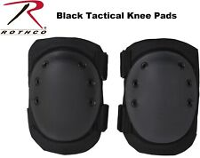 BLACK Rothco Military & Swat Tactical Protective Gear Knee Pads 11058