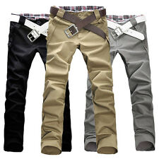 SEXY SLIM FIT HERREN CHINOHOSE DENIM FREIZEIT TROUSERS BUSINESS JEANS PANTS COOL