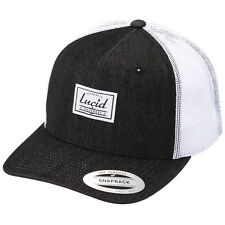 New Lucid Freight Trucker Cap in Black | headwear Mens Headwear Mens Caps