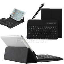 Black Universal Bluetooth Keyboard PU Leather Case Cover For Most 7 Inch Tablet