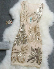 2014 New Fashion Party Formal dresses Handed Sequins Women Cocktail Pretty Dress