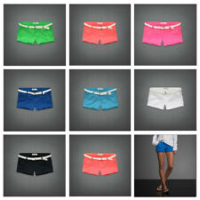"NEW ABERCROMBIE KIDS GIRLS cotton blend ""JOHANNA"" SHORTS SIZES 8  10  12  14  16"