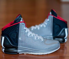 ADIDAS D ROSE 4 CHICAGO BULLS MENS BASKETBALL SHOES BLACK GRAY RED G67398