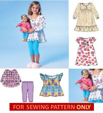 SEWING PATTERN! MAKE MATCHING PAJAMAS FOR GIRL~DOLL! FITS AMERICAN GIRL ISABELLE