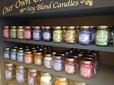 Our Own Candle Company Small Mason Candles- BUY 3 GET 1 FREE