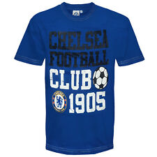 Chelsea Football Club Official Soccer Gift Infants Graphic T-Shirt Navy Blue