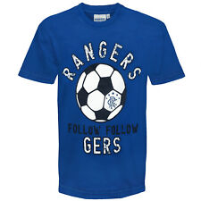 Rangers Football Club Official Soccer Gift Infants Graphic T-Shirt Royal Blue