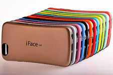iFace mall Anti-Shock Reinforced Back Case Cover for iPhone 4 4S 5 5S 5C + Film