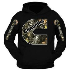 Cummins Hoodie BLACK Camouflage Dodge Truck all size s to XL