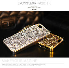 Bling Diamond Chrome Case For Iphone 6 Plus 4 5 5S 5C For Samsung Note 4 3 S5 S4