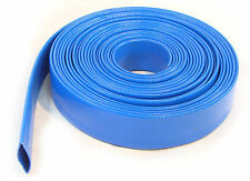 100Ft 30Meter Layflat PVC Water Delivery Hose Discharge Pump Irrigation Tubing
