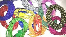Braided Fabric round Woven USB Sync Data Charger Cable for iPhone 5 5S 6 6 Plus