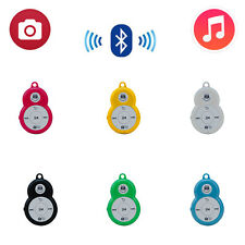 2-in-1 Wireless Bluetooth Music and Shutter Remote Control for iPhone Samsung
