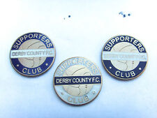 Derby County Supporters Club Vintage Style Pin Badge - Football Badge