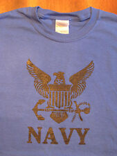 NAVY Logo PT-T-Shirts, Military Style, Physical Training Cotton Tees