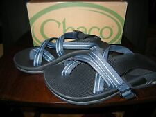 Brand New Mens Two Tone Blue Chaco Zong Ecotread Sandals