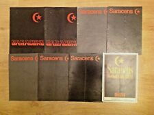 Saracens Rugby Programmes 1968 - 1983