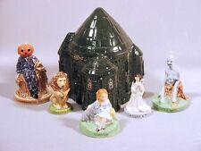 Wade Wizard of Oz Figures DorothyToto TinMan Lion Jack Pumpkinhead Emerald City