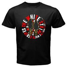 New The White Stripes Blues Rock Duo Group Men's Black T-Shirt Size S to 3XL