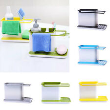 New Kitchen Plastic Racks Organizer Cabinet Sink Storage Space Saver 5 Colors