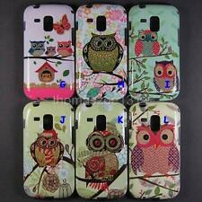 Soft Owl Case Back Cover Skin For Samsung Galaxy S Duos 2 S7582 Trend Plus S7580