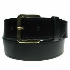 "New Mens Full Real Leather Belt Made in England UK 28""-60"" Trousers and Jeans"