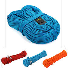 7KN 6mm Core Nylon Outdoor Rock Mountain Climbing Cave Fast Rope Safe Line Wire