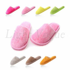 Tops Women Men Home Anti-slip Shoes Soft Warm Cotton House Indoor Slippers 0045