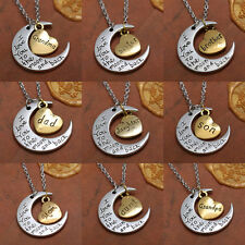 Fashion New Jewelry I Love You To The Moon And Back Necklace Pendant 2015 US HOT