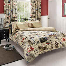 World Post Comforter Cover Duvet Cover Quilt Cover Bedding Set With Pillow Cases