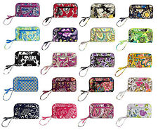 VERA BRADLEY Zip-Around Wallet Wristlet Multi Colors NWT